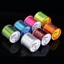 Dndyuju 500m Super Strong Fishing Line Daiwa Nylon Monofilament Fishing Line 2LB-35LB 4 Colors(China)