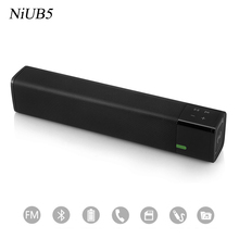 2017 Hot Super Sound Bass Power Bass HIFI Wireless Bluetooth Speaker 4.1 Pairs of Speakers Stereo Amplifier NFC Bluetooth Speake(China)