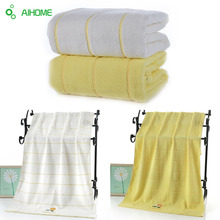 AIHOME Solid Bath Towel Adult Body Bath Quick Dry Adults Washclothes Super Absorbent Swimwear Shower Towels Beach Towel