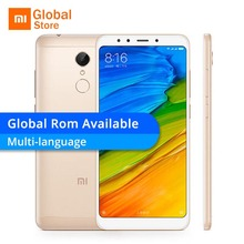 "New Arrival Xiaomi Redmi 5 2GB RAM 16GB ROM Mobile Phone Snapdragon 450 Octa Core 5.7"" 1440x720P 18:9 Full Screen 3300mAh MIUI 9(China)"