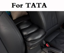 car styling Car Auto Armrests Center Console Cover Seat Box Pad Soft PU Mats For TATA Aria Indica Indigo Nano Safari Sumo