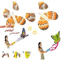 2Pcs Magic Tricks Hand Transformation Flying Butterfly Magic Toys Prop Prank Joke Mystical Funny Novelty Classic Toys