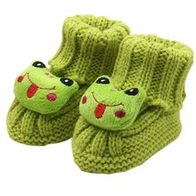 baby shoes baby moccasins cute winter autumn Toddler Baby Knitting Lace Crochet Shoes Buckle Handcraft Shoes First Walkers#X30