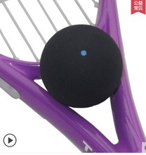 Squash Rackets Single blue dot squash professional training exercise for beginners fast ball