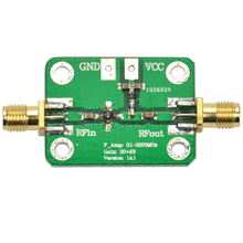 0.1-2000MHz Low Noise LNA Broadband RF Receiver Amplifier Signal Amplifier Module Gain 30dB