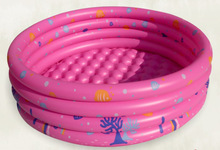 2017 Inflatable Swimming Pool Kiddies  Ocean Balls Pool Outdoor Activity Sports PVC Pool Round Bath Tub 150cm