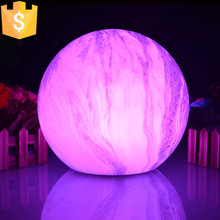 Diameter 25cm LED Ball Party Home Patio Wedding Romantic Decor Light Color Changing Wireless Table Lamp 4pcs/lot(China)