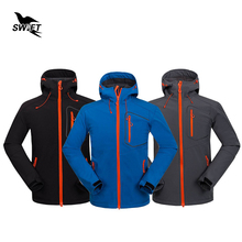 Custom Tech Fleece Softshell Jacket Men Sport Windbreaker Mountain Climbing Hiking Clothing Waterproof Fishing Hunting Clothes