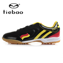 TIEBAO Professional Men Women TF Turf Sole Football Boots National Flag Adults Athletic Training Shoes Outdoor Soccer Shoes