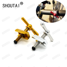 Ultra-light Bicycle hinge clamps and hinge levers(limit nut) For Brompton MBX Frame Quick Release Buckle Cycling Part