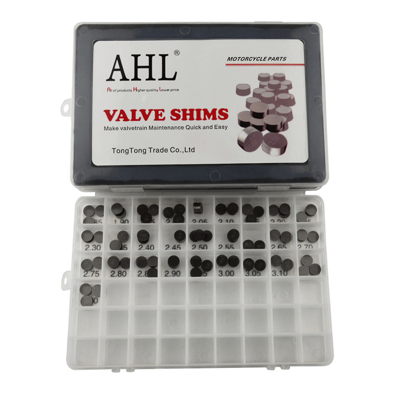 AHL 84pcs Motorcycle 10mm Adjustable Valve Shim Complete Washers