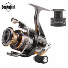 SeaKnight DR 2000/3000/4000 Spinning Reel Carbon Fiber Leg & Spool Real 11BB Spinning Fishing Reel with Plastic Spare Spool(China)