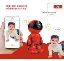 HD 960P 1.3MP Wireless IP Camera wi-fi Robot camera Wifi Night Vision Camera IP Network Camera CCTV two-way Audio baby monitor