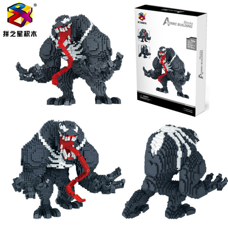 pzx super hero mini blocks Venom-1