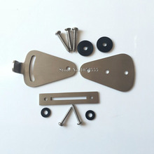 High Quality stainless steel lock for sliding barn door wood door latch hardware(China)