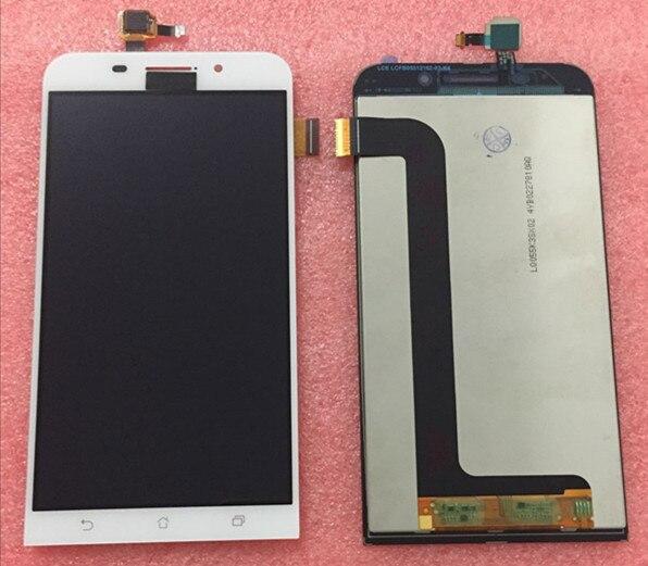 100% Geniune LCD screen display+touch digitizer For 5.5 ASUS zenfone max ZC550KL ZenFone 5000 Z010DA White/ black free shipping<br><br>Aliexpress