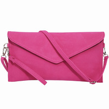 Fashion Generous design Women's party evening Clutch Faux Suede shoulder bag Ladies Handbag messenger crossbody envelope bags