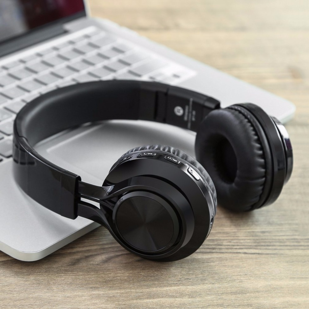 Sound Intone Foldable Wireless Bluetooth 4.0 Headphones Stereo Build-in Microphone Wired Music Headsets MP3 <br>