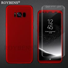 For Samsung S8 Plus Case Roybens 360 Degree Full Protection Case For Samsung Galaxy S8 Plus Cover Free Soft TPU Screen Protector