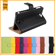 2014 New Wallet Leather 11 Colors Cover Flip Case For Sony Xperia V LT25i Stand Phone Cases With Card Holder