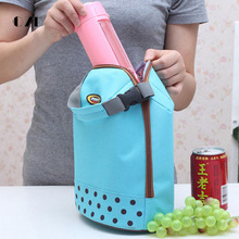 QZH Thermal Lunch Bags for Women Men Food Picnic Cooler Canvas Waterproof Lunch Bag Kids Student