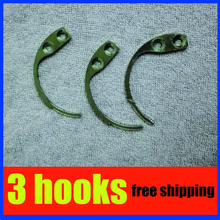3pcs super detacher hook,mini eas hook detacher for super AM security tag free shipping