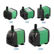Submersible Pump Fish Pond Tank Aquarium Pond Pool Garden Fountain Irrigation Fountain Water Pump(China)