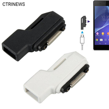 Micro USB Magnetic Charger Adapter Converter For Sony Xperia Z1 L39H Z2 Ultra XL39H Z3 Compact Mini Tablet Connector Adapter