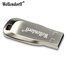 Flash Drive New Silver Metal USB pen drive USB Flash drive 64GB 32GB 16GB 8GB 4GB CZ50 usb disk pen memory sticks usb key