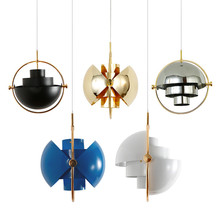 Modern Multi Lite Pendant Lamp Metall Ball Chandelier Ceiling Lighting Fixture For Dinning Room Bedroom Home Decor Free Shipping(China)