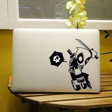 "Deadpool Graffiti Style Vinyl Laptop Decal for Notebook Apple MacBook Air Sticker Pro Decal Retina Skin 11"" 12"" 13"" 15 inch(China)"