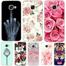 KALCAS Soft Silicone TPU Case Cover For Galaxy S8 J5 A5 2017 J527F Case Cool Mouse Kiss Painting Shell Phone Back Protector Capa