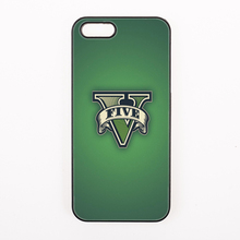 cool game gta grand theft auto 5 san andreas cover case for iPhone 4 4s 5 5s 5c se 6 6S 7 Plus iPod Touch 4 5 6(China)