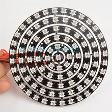 1 8 12 16 24 32 93 Bits LEDs WS2812 5050 RGB LED Ring Lamp Light with Integrated Drivers