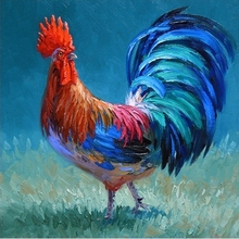 Full Diamond Painting The Big Cock Diy Diamond Embroidery A American Style Decoration For Living Room A Good Gift For Family