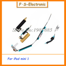 10sets/lot 4 in 1 WiFi/GPS/Network Cell/Bluetooth Signal Antenna Flex Cable Set For iPad Mini free shipping
