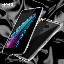 Xiaomi redmi 4x case cover SPEDU original clear transparent redmi 4X phone bag case for xiaomi redmi 4X back cover silicone TPU(China)