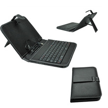 Tablet PC Keyboard Set Black PU Leather USB Keyboard Cover Stand Case 7inch Tablet PC Mid+Free Stylus PEN