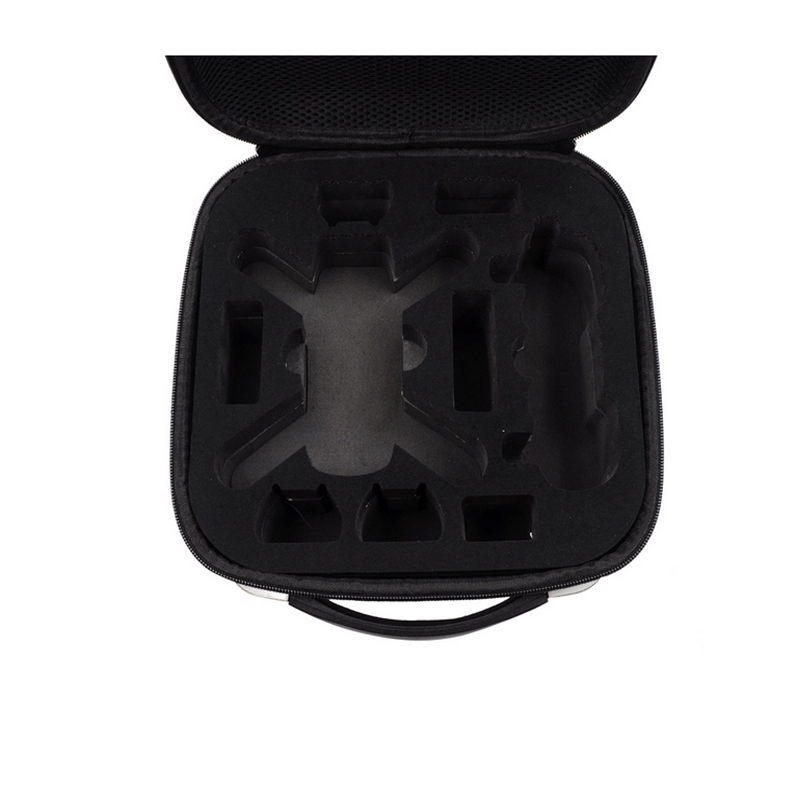 Carbon Pattern Case for DJI Spark Portable Box Collection Package Aerial Unattended Storage Bag for DJI Spark Accessories