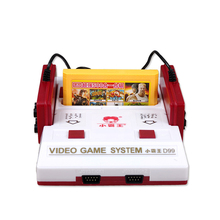 2016 Nostalgic Video Game Console to TV FC Classic Cassette Family TV Game Console Player with Yellow Game Card Card Wholesale
