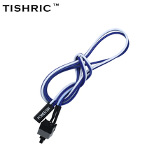 TISIRIC 10pcs 2017 New 50cm Host Motherboard Power SW Switch On/OFF Cable Reset Adapter Cord For BTC Miner Machine
