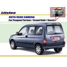 License Plate Light OEM / HD CCD Night Vision / RearView Camera / Backup Parking Camera For Peugeot Partner / Grand Raid / Ranch