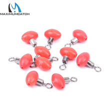Maximumcatch 10 Pieces/Lot New Sea Fishing Products Pully Slider Rig Beads Fishing Tackle Box(China)