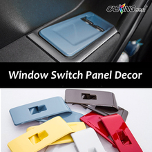Car Window Switch Panel Decorative Plates Window Control Frame Trim Decor Car Accessories for New Volkswagen Beetle Car Styling