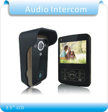 "DIY Doorbell Camera 3.5"" LCD 300M 2.4G Wireless Video Intercom Phone Control  Door Phone Wireless Door bell"