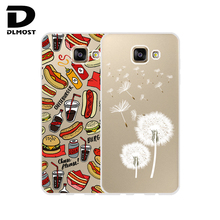 TPU Soft Case For Samsung Galaxy A5 2016 A510 Transparent Ultra-Thin Silicone TPU Case Cover For Samsung Galaxy A5(2016) New