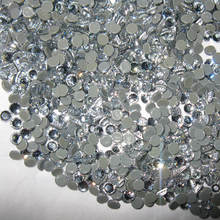 Rhinestone hotfix ss6 in color white clear 1440 pcs per pack super shiny quality grade free shipping service