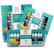 Windsor Newton 12 color 10ml acrylic paint paint set professional art supplies