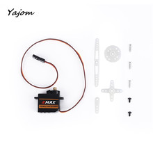 Free for shipping EMax ES8A II Mini Micro High Sensitive Servo for 3D RC Plane Helicopter Brand New High Quality May 2(China)
