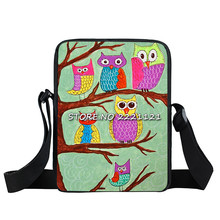 kids 3D Zoo Owl Schoolbags for Kids Small Children Animal School Bag Girls Cute Baby Kindergarten Bag Mochila infantil(China)